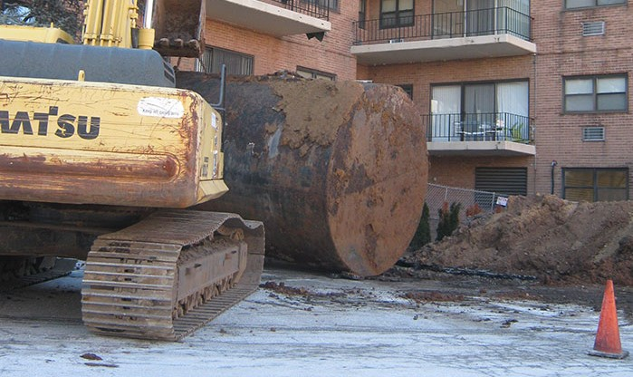 Image of site remediation in progress