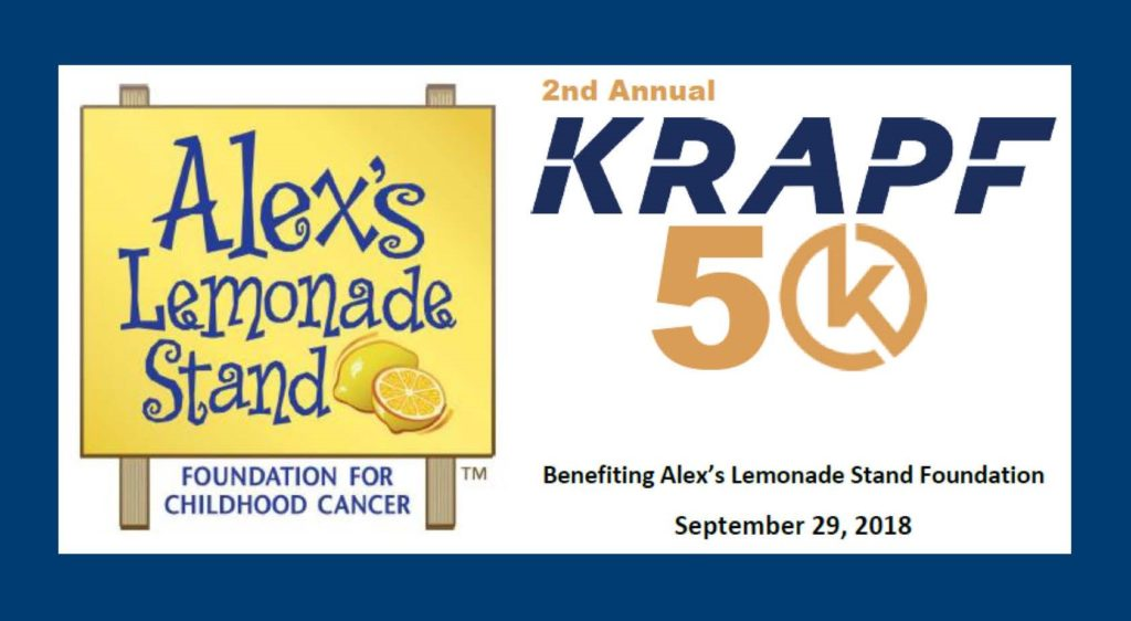Brickhouse Supports Alex's Lemonade Stand_Krapf 5k Run-Walk