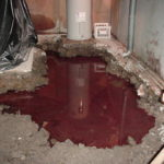 Fuel Oil Spill - Home Basement