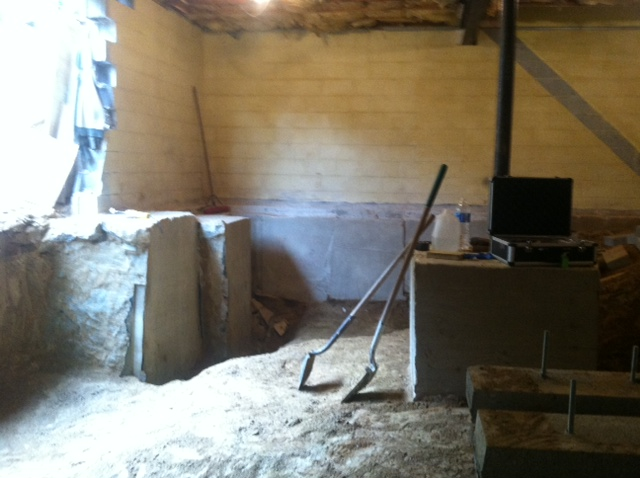 Finished footers and excavation west side